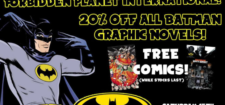 Nostalgia & Comics Celebrate Batman Day with even more special offers!