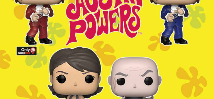 Funko Coming Soon: Austin Powers Pop!