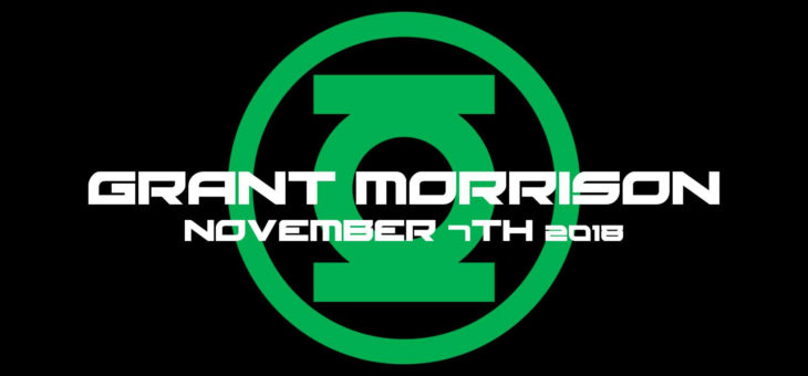 Forbidden Planet Dublin Presents Grant Morrison In Store Signing!