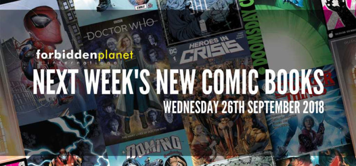 New Comic Book Day Wednesday 26th September 2018