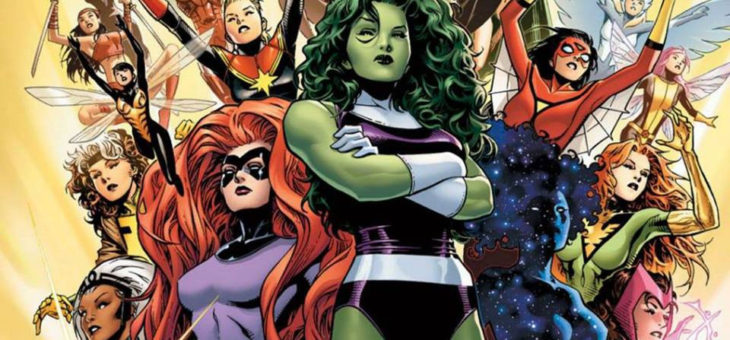 Women of Marvel Discount Weekend at Forbidden Planet Aberdeen