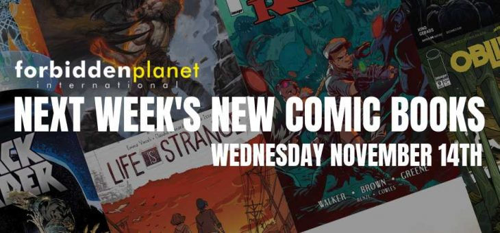 New Comic Book Day Wednesday 14th November 2018