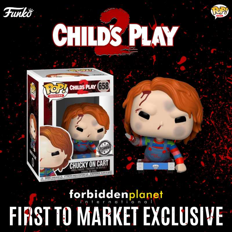 Funko Coming Soon: Child's Play 2: Chucky on Cart Pop! Vinyl