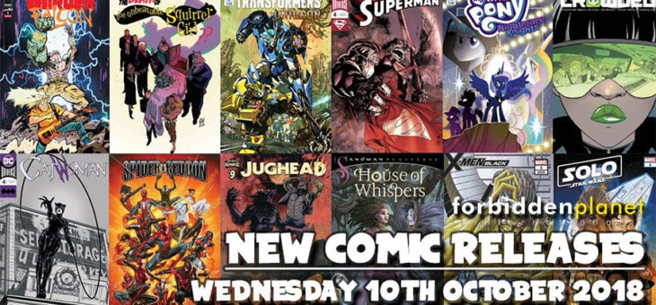 New Comic Book Day Wednesday 10th October 2018
